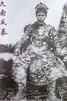 One of the first Vietnamese men to cut his hair, King Thanh Thai (1889-1907) was a staunch patriot.