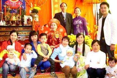 Vietnamese Celebration for Longevity Custom