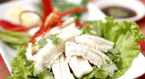 Cuttlefish Steamed with Ginger - Vietnamese Culture and Tradition